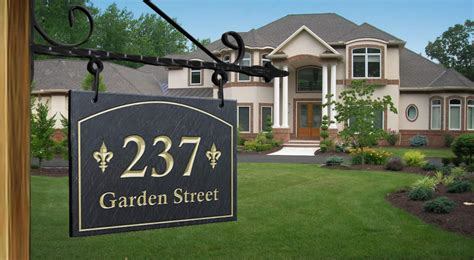 address plaque home address plaque custom metal