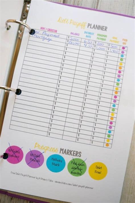 Debt Planner Spreadsheet by Debt Payoff Planner Worksheet Debt Payoff Spreadsheet