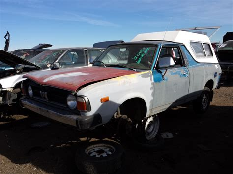 brat car junkyard find 1982 subaru brat the truth about cars