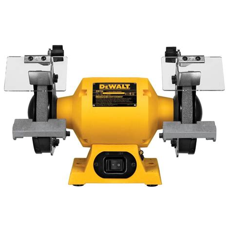 bench grinder specification dewalt 6 in 150 mm bench grinder dw756 the home depot