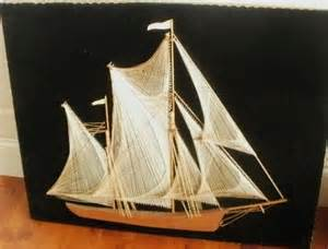 String Sailboat - pin by gwizdak on mid century i