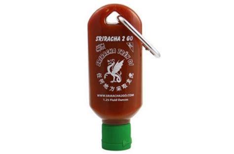 sauce keychain portable sauces sriracha keychain