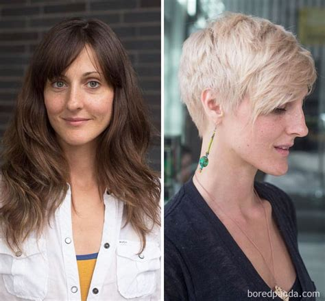 haircut before and after long hair 10 extreme haircut transformations that will inspire you