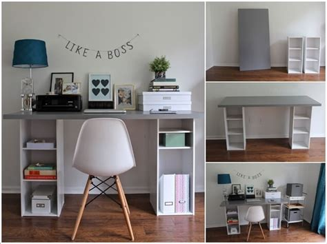 home office diy 10 diy home office desks for your inspiration