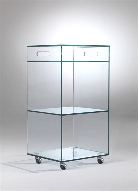 Wheels Display Cabinet by Display Cabinet With Wheels For Shops Idfdesign