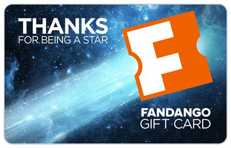 What Is A Fandango Gift Card - thank you movie gift card