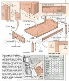 Plans Com 1707 Doll Bed Plans Woodarchivist
