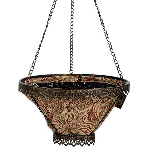 Hanging Planter Liners by Bombay Outdoors Black Avignon Hanging Planter With Venice