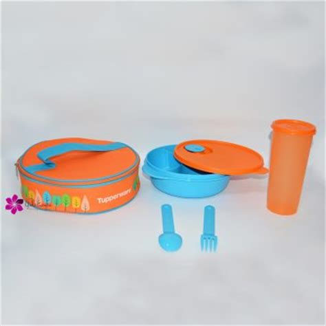 Baru Tupperware Fancy Crystalwave Lunch Set fancy crystalwave lunch set tupperware katalog promo