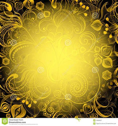 Frame O Breadbox Vr46 Black Yellow frame floral amarelo preto fotografia de stock royalty free imagem 23809027