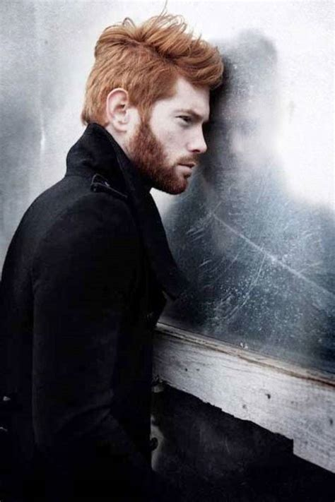 celebrity with red hair and beard long copper brown with beard mens hairstyles club