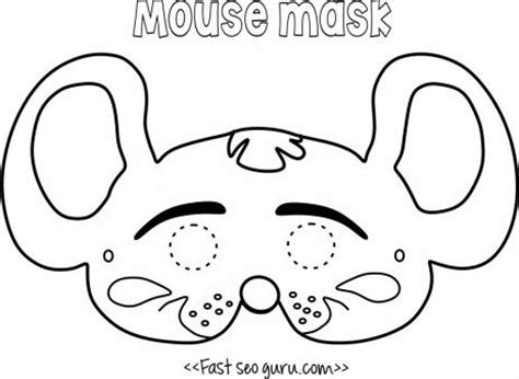 free printable mouse mask template 10 best s mouse costume images on pinterest mouse