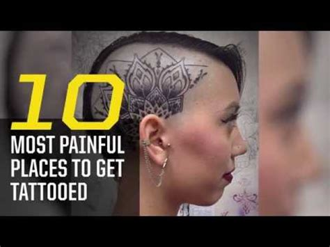places to get tattoos the 10 most places to get tattooed