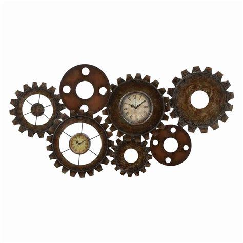 woodland imports 13498 metal gear clock atg stores