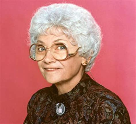 golden girls estelle getty as sophia petrillo in the golden girls 1985