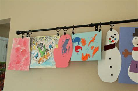 hanging kids artwork best ideas for displaying children s artwork