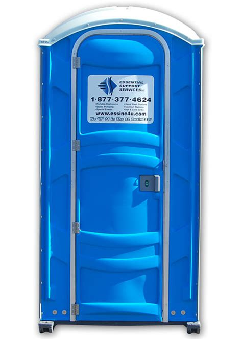 standard portable toilet rental essential support services