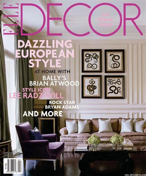 home design living magazine decoration elle decor magazine