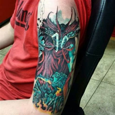 spawn tattoo designs spawn by mr bruce at up in flames fall river