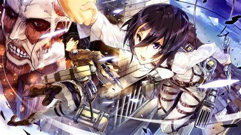 wallpaper keren attack on titan wallpaper anime shingeki no kyojin attack on titan