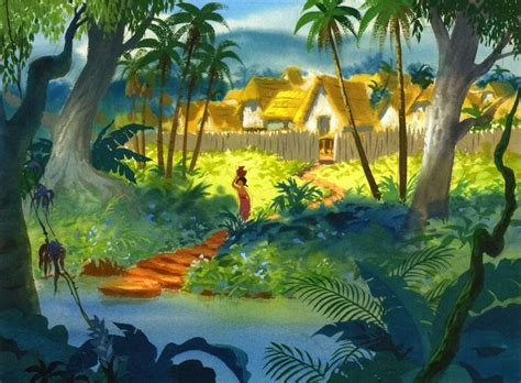 jungle book themes analysis the jungle book concept art the art of walt disney s