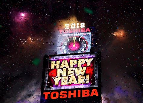 new year 2018 time new year s 2018 in new york city