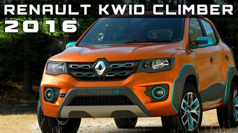 2016 Renault Kwid Climber Review Rendered Price Specs