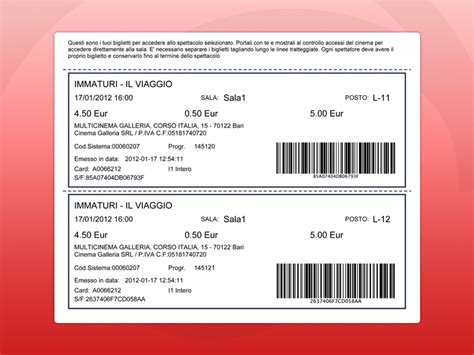 acquisto e prenotazione biglietti multicinema galleria