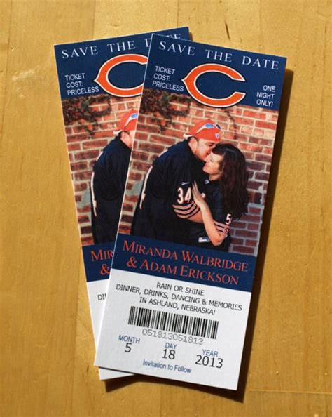 chicago bears wedding invitations 10 best images about wedding ideas on jim hjelm occasions invitations and groomsmen
