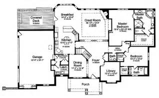 House Plans With 2 Master Suites Master Suite Floor Plans Two Master Bedrooms Hwbdo59035 Craftsman House Plan From