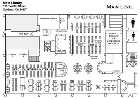 library floor plans floor plans law library alameda county