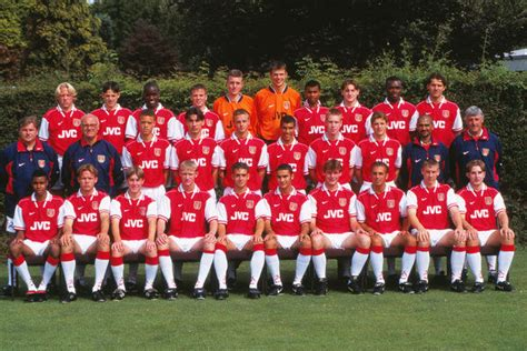 arsenal youth team arsenal youth 1997 98 football 1997 1998 season