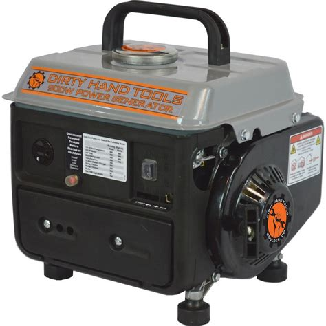 tools 900 watt gasoline generator with oem