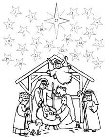 advent coloring pages advent calendar printable numbers new calendar template site