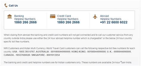kotak mahindra insurance contact number citibank credit card customer care toll free number in