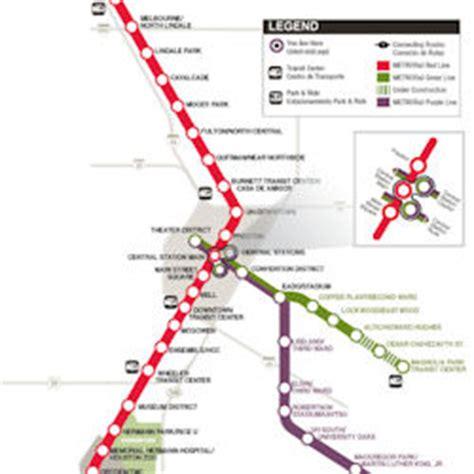 houston light rail map houston metro rail map world map 07