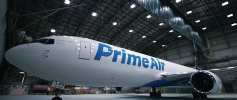 amazon prime air amazon unveils the first of its fleet of prime air