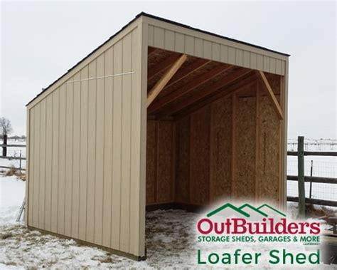 What Is A Loafing Shed by The Loafing Shed Outbuilders