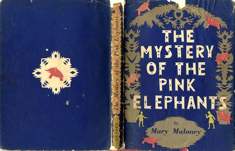 the mystery of the bridget moss the mystery of the pink elephants 1945