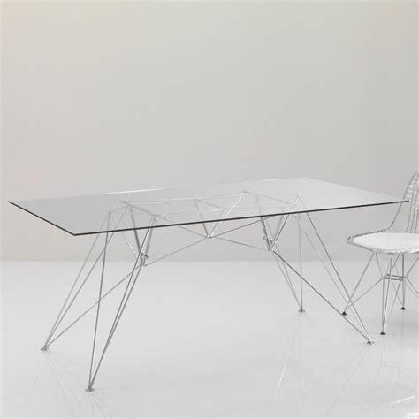 scrivania in vetro per ufficio tavolo per ufficio konrad scrivania in vetro 180 x 70 cm