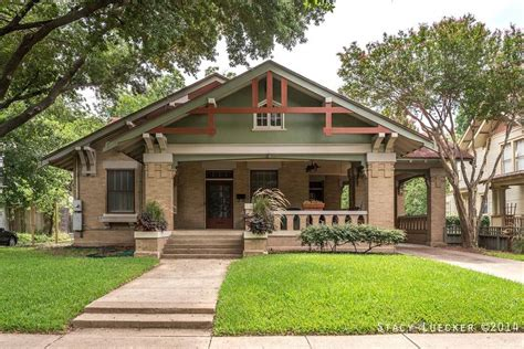 Arts And Crafts Bungalow Plans by Historic Fairmount District Fort Worth