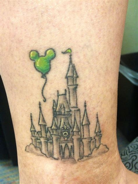 disney castle tattoo 25 best ideas about disney tattoos on