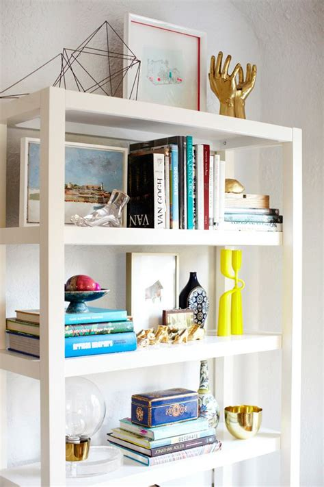 styling bookshelves bookshelf styling home pinterest
