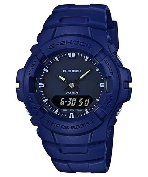 Jam Tangan Casio G Shock G 100cu 3ajf Original Garansi Resmi g 100cu 2a analog digital standar g shock penunjuk waktu casio