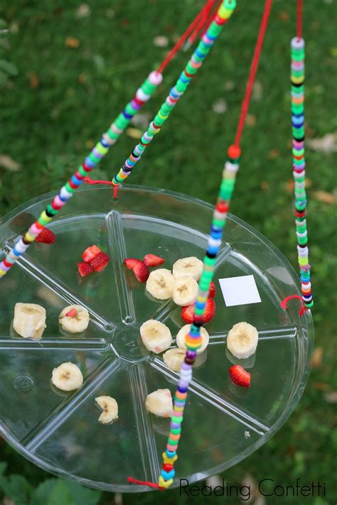 Make Butterfly Feeder easy butterfly feeder reading confetti