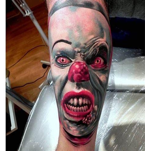 joker tattoo nailed it 25 menacing clown tattoos tattoodo