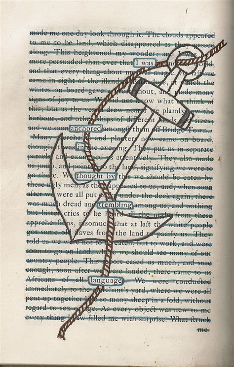 21 letters an ode to the struggle books found text blackout poem anchor on a6 greeting by