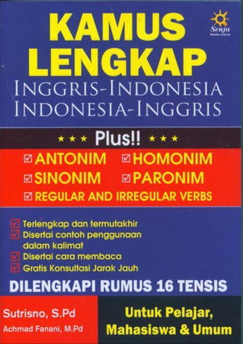 Kamus Lengkap Bahasa Indonesia Mkabdullahspd bukukita kamus lengkap inggris indonesia indonesia inggris