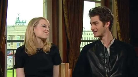 emma stone youtube interview andrew garfield and emma stone berlin interview youtube