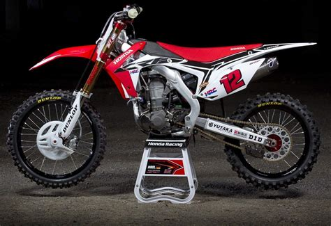 works motocross inside the works honda hrc crf450 grand prix bike